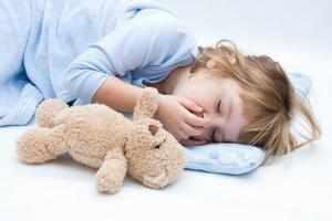 Кашель у детей во сне