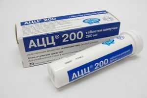 Порошок АЦЦ - детские и взрослые дозировки
