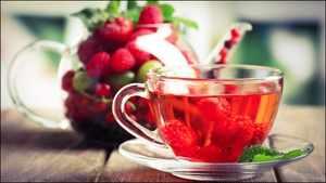 Как приготовить малиновый чай