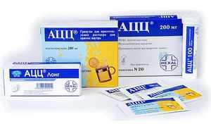 Описание эффективных лекарств для лечения влажного кашля